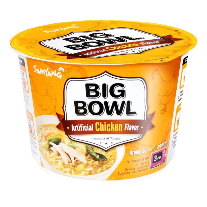 Samyang Big Bowl 95g Chicken Flavour Korean Noodle Bowl
