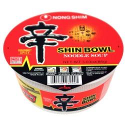 Nong Shim Bowl 86g Noodles ( 農心辛辣杯麵 )  Shin Cup Noodle Soup