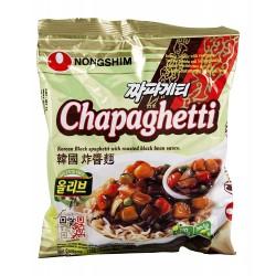 Nongshim Box 20x140g Chapaghetti Chajangmyun Korean Black Spaghetti