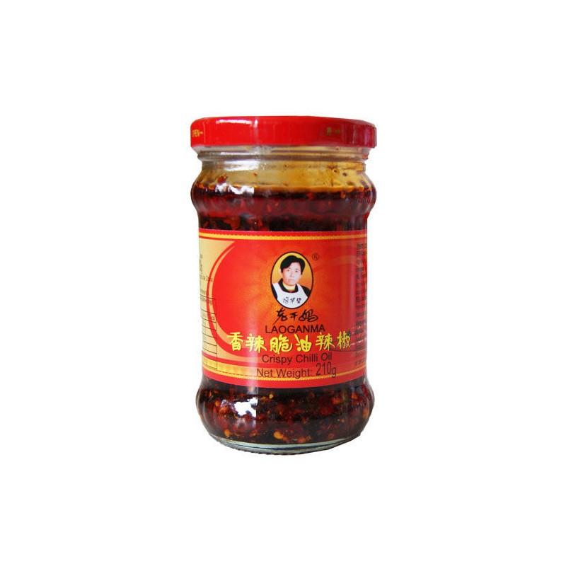 Laoganma (老干妈 香辣脆油辣椒) Crispy Chilli Oil