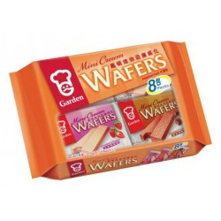 Garden Mini 272g Cream Wafers Assorted 8 Pack