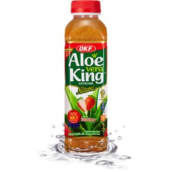 OKF Aloe Vera King 500ml Strawberry drink