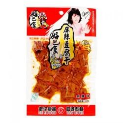 HBS Hui Ji Food Spicy Beancurd 68g 好巴食豆乾 (麻辣) 68g Dried Beancurd