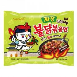 Samyang Noodles Hot Chicken Jjajang Ramen 140g Instant Korean Noodles