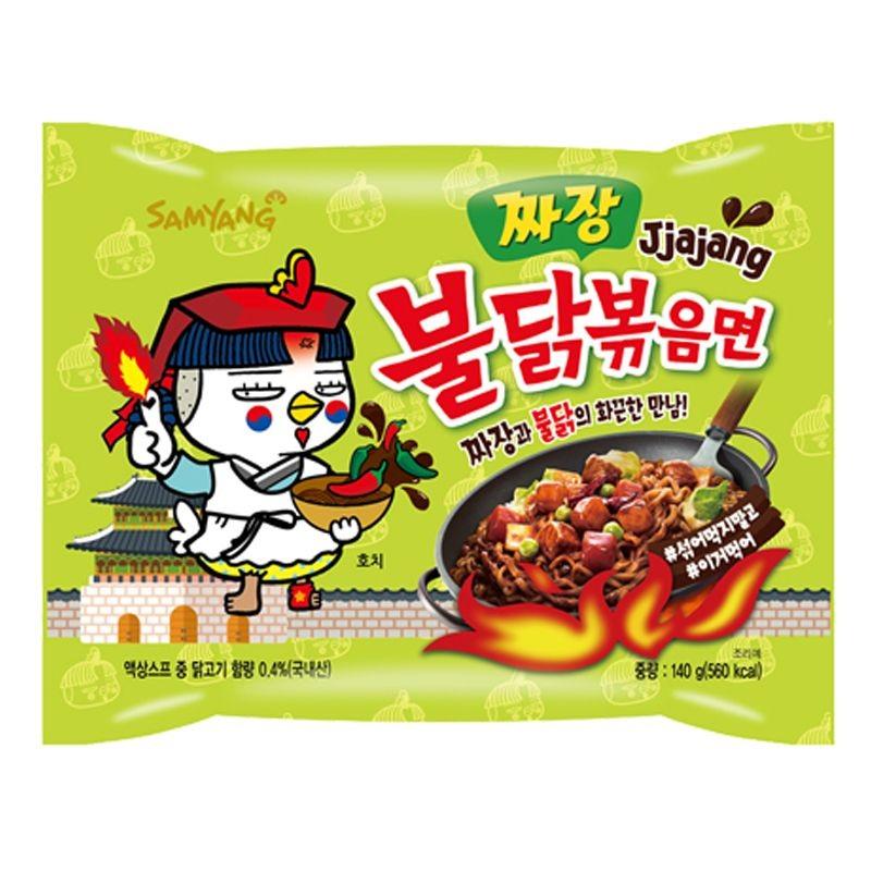 Samyang Noodles Hot Chicken 140g Jjajang Ramen Noodle