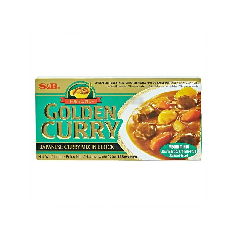 S&B - Curry - 220g - Golden Curry