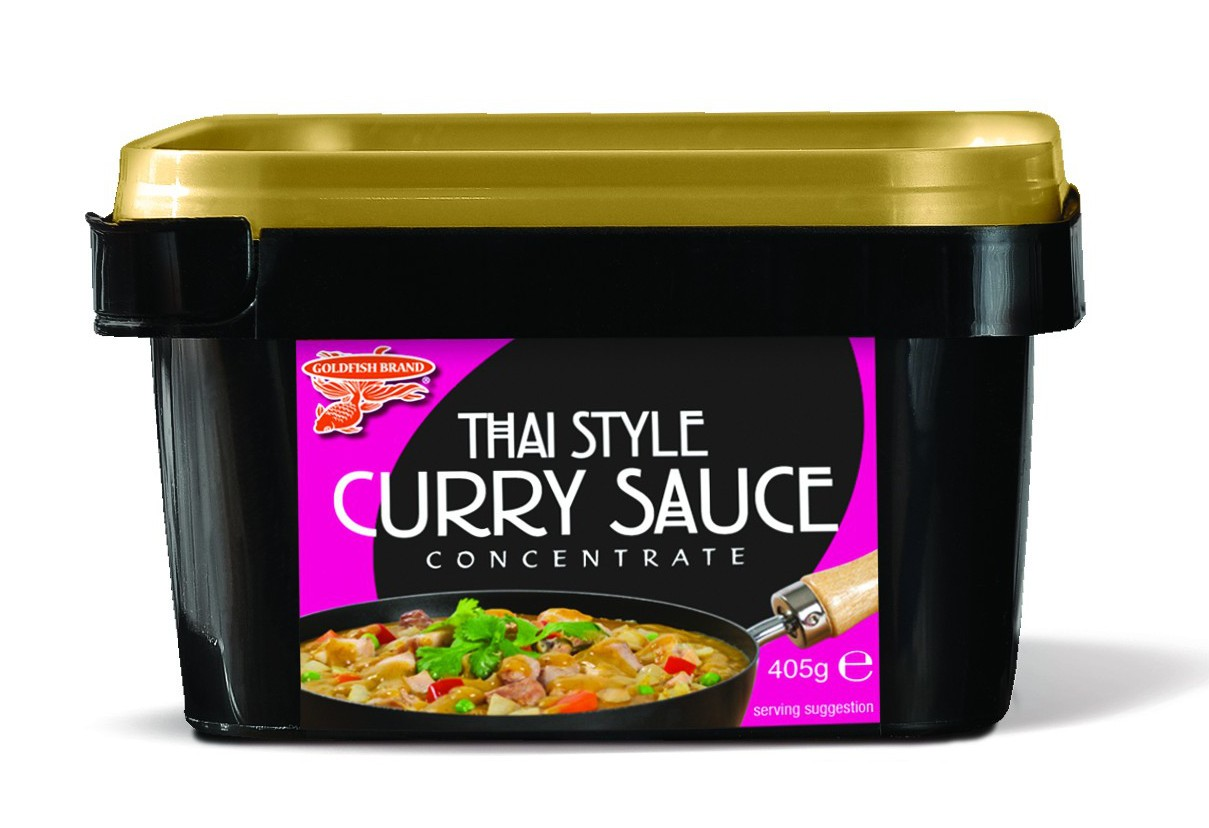 Goldfish Brand Thai Style Curry 405g Sauce Concentrate Tub
