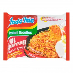 Indomie Noodles - Mi Goreng Hot & Spicy Instant Indonesian Noodles