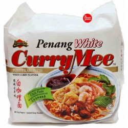 Ibumie Penang White 105g x 4 Curry Mee Malaysian Perisa Kari Instant Soup Noodles