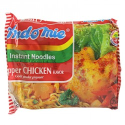 Indo Mie Instant Noodles Pepper Chicken Flavor