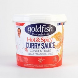 Goldfish hot & spicy curry...