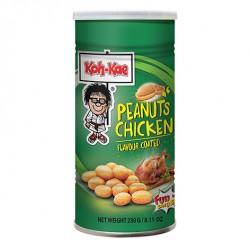 Koh-Kae Snacks (大哥 雞味花生豆) Peanuts - Chicken Flavour Coated Snack