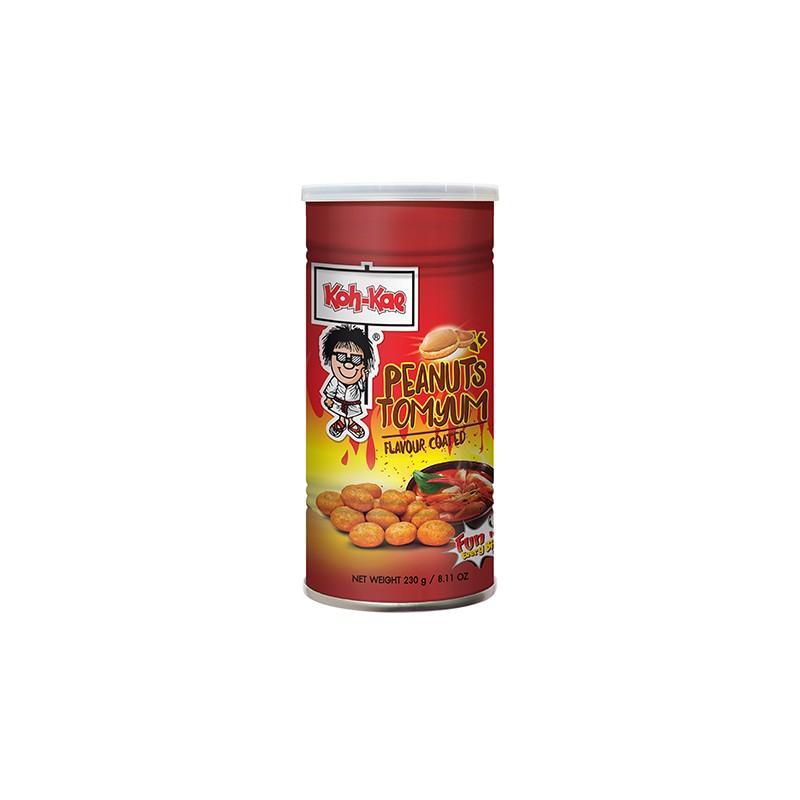 Koh-Kae Snacks (大哥 泰式酸辣味花生豆) Peanuts - Tom Yum Flavour Coated Snack