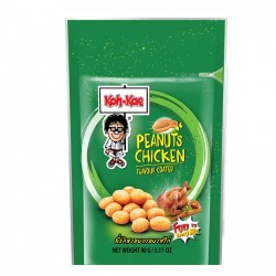 Koh-Kae Chicken Peanuts 90g Resealable Chicken Flavour Peanut Snack
