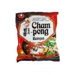 Nong Shim Noodles Champong Seafood (오징어짬뽕) Ramyun Korean Noodles