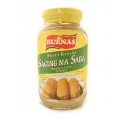 Buenas Saging Na Saba 340g Sweet Banana in Syrup
