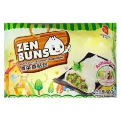 Zen Buns 300g green veg and mushroom 300G
