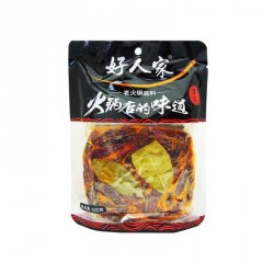Teway Food Soup Base for Spicy Hotpot 500g 好人家老火锅底料