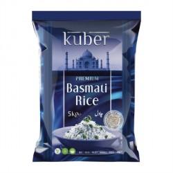 Kuber Premium Basmati Rice 5kg Finest Basmati
