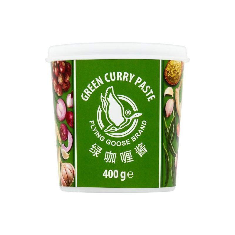 Flying Goose Green Curry Paste 400g Tub of Green Curry Paste