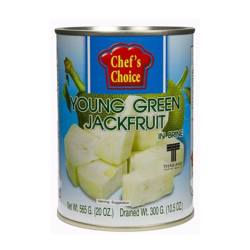 Aroy-d Young green jackfruit 565g green jackfruit in brine