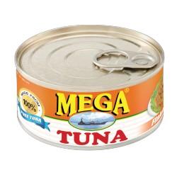 Mega Tuna Flakes 180g Hot and Spicy Filipino Tuna