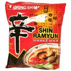 Nong Shim Noodles Shin Ramyun (農心 辛辣面) 120g Korean Noodle
