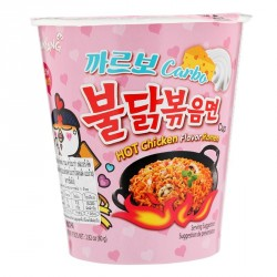 Samyang Hot Chicken Flavour Carbo Ramen 80g Cup Noodles