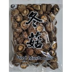 East Asia Brand Dried Mushrooms 3-4cm 500g