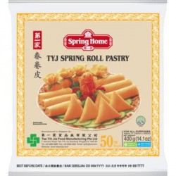 Spring Home TYJ Spring Roll Pastry 40shts 8.5inch 550g