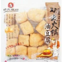 Kung Fu Tofu 140g Frozen Fried Tofu