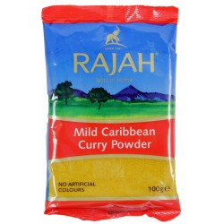 Rajah Caribbean Hot Curry Powder 100g