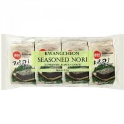 KW Angcheon Seasoned Seaweed Laver 8x5g Korean Nori Snack