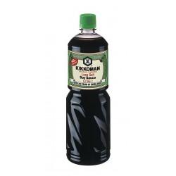 Kikkoman Soy Sauce 1L Less Salt