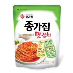 Sauce - Chongga Mat Kimchi 300g tub (종가집 - 맛김치) Cut Cabbage Kimchi