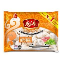 Freshasia Dumplings Pork and Corriander 400g Frozen Dumplings