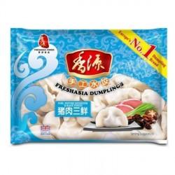 Freshasia Pork Mushroom and Black Fungus 400g Frozen Dumplings