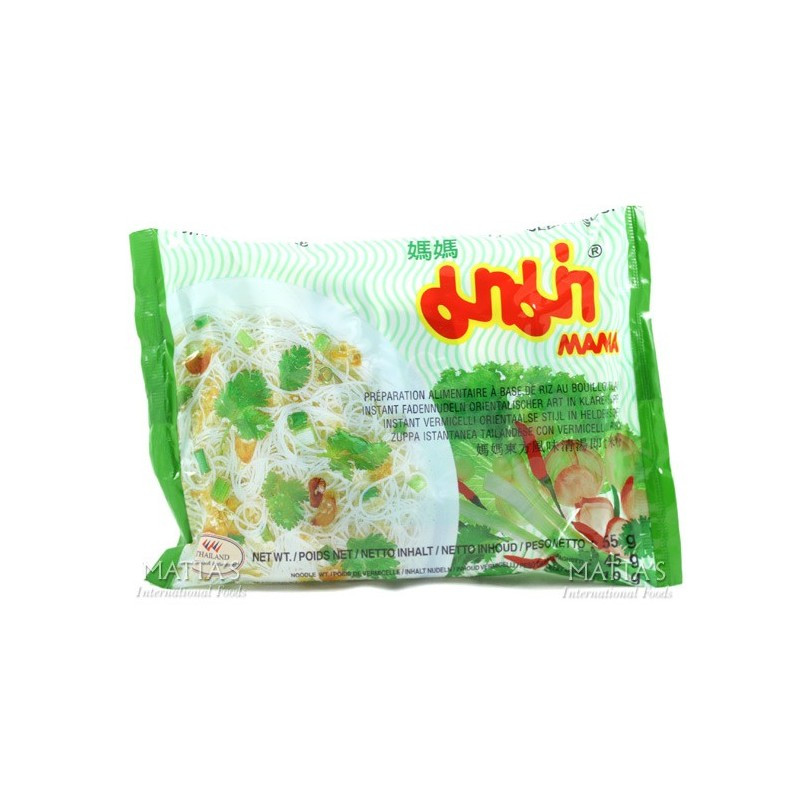 Mama - Instant Rice Vermicelli Clear Soup - 55g