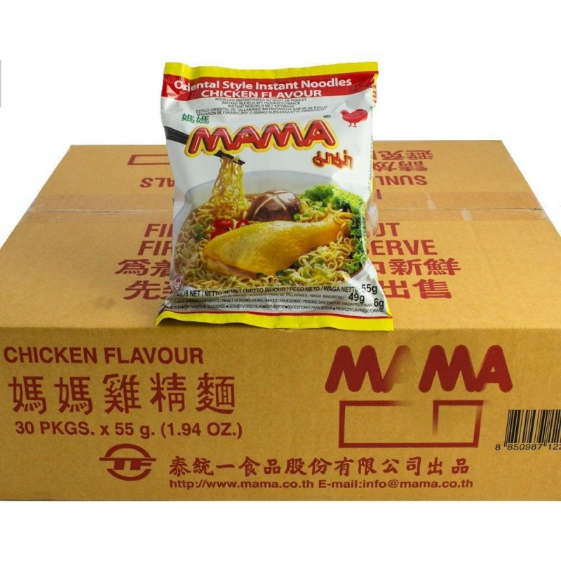 Mama - instant noodles - chicken - 55g