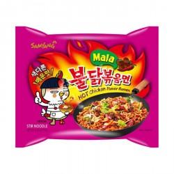 Samyang Mala 130g Noodles Hot Chicken Flavour Ramen Mala Buldak instant Noodles