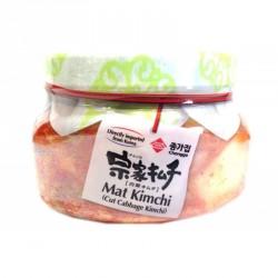 Jongga Mat kimchi 400g Jar Fresh Kimchi