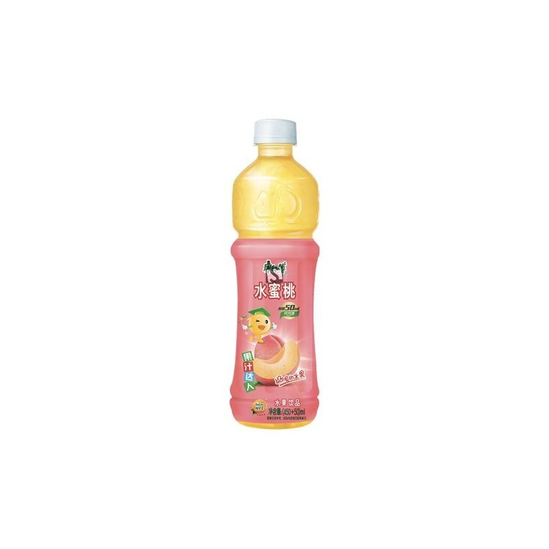 Mr Khon Peach Juice 500ml Peach Juice Drink