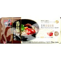 Wu Mu Ramen Instant Steamed Mushroom 321g Taiwanese Noodles