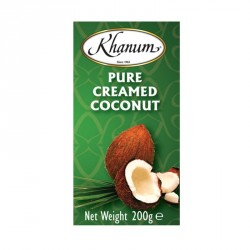 Khanum Pure Creamed Coconut 200g