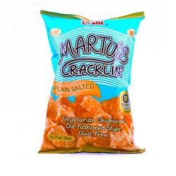 Oishi Marty's Cracklin 90g Plain Salted 0g Trans Fat...