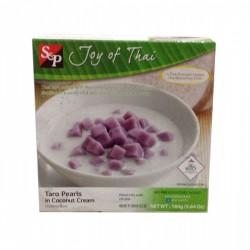 S&P Joy of Thailand Frozen Taro Pearls 160g in Coconut Cream