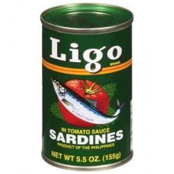 Ligo Sardines 155g in...