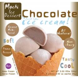 Buono Mochi Non-Dairy Frozen Chocolate Flavour 6x26g Dessert