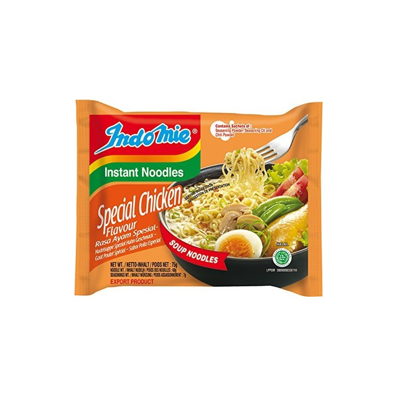Indomie Noodles - Special Chicken Flavour Instant Indonesian Noodles