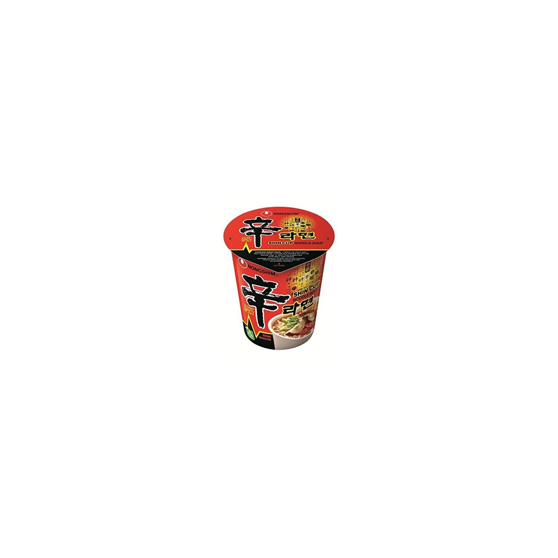 Nongshim - 68g - Spicy Shin Cup